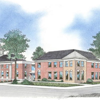 Southington Town Hall Rendering